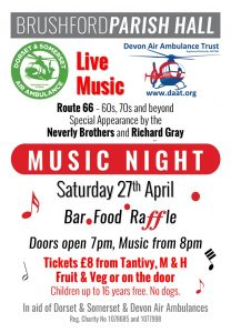 Music Night with the Neverly Brothers and Richard Gray