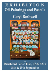 Art Exhibition by Caryl Rothwell. Public Viewing