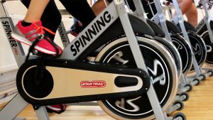 Spin Class (indoor cycling with Lynda)